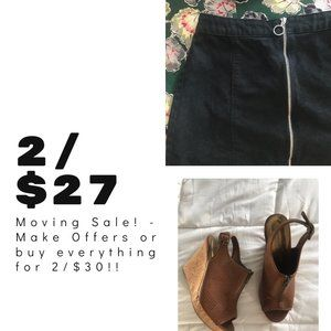 LISTINGS 2 for $27 or 3 for $27!
